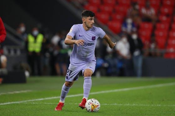 Yusuf Demir debütiert für Barcelona.