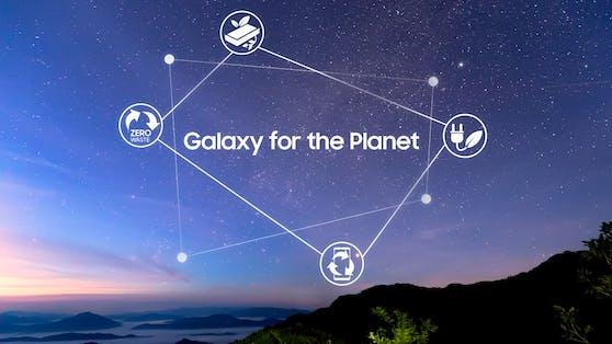Galaxy for the Planet: Samsung präsentiert Nachhaltigkeitsvision.
