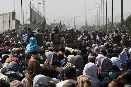 Noch bis Dienstag läuft die Evakuierungsmission der USA in Afghanistan.