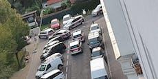 Groß-Einsatz in Wien – Polizei sperrt ganze Straßenzüge