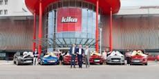 6 Gewinnspiel-Teilnehmer freuen sich über neues Auto