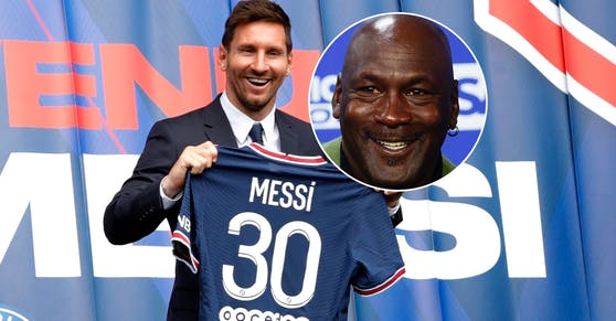 Lionel Messi, Michael Jordan
