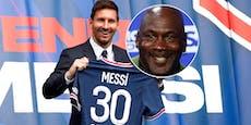 Messi-Deal bringt NBA-Ikone Michael Jordan Millionen