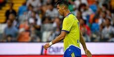 Juve verschenkt Sieg – Rätsel um Ersatzspieler Ronaldo