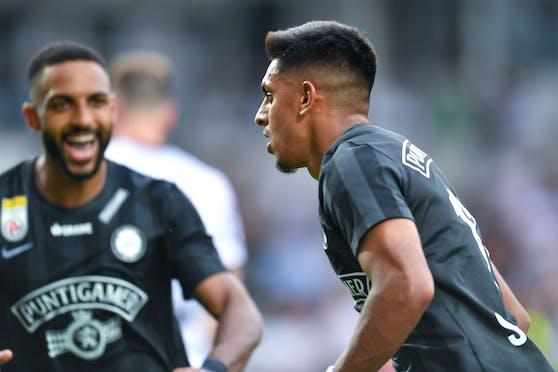 Manprit Sarkaria trifft gegen den Ex-Klub Austria.