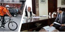 Früher Minister, heute Essensbote – Afghane sattelte um