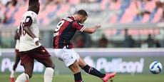 Arnautovic schießt Bologna nach Rückstand zum Sieg