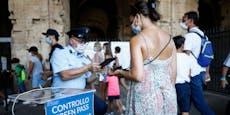 Neue Corona-Regeln in Italien – Grüner Pass ausgeweitet