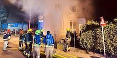 Feuerwehr rettete zwei Katzen bei Brand in Amstetten