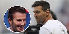 Messi-Treffen mit Beckham: Karriere-Ende in Miami?