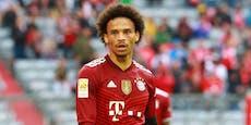 Bayern-Star Sane von den eigenen Fans verhöhnt