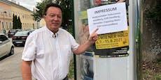 Plakate ohne Impressum – Anzeigenflut gegen Vereine