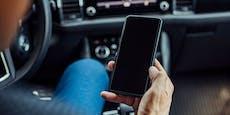 Drogenlenker am Handy baute beinahe Unfall mit Polizei