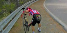 Roglic verliert mit Sturz die Führung bei der Vuelta
