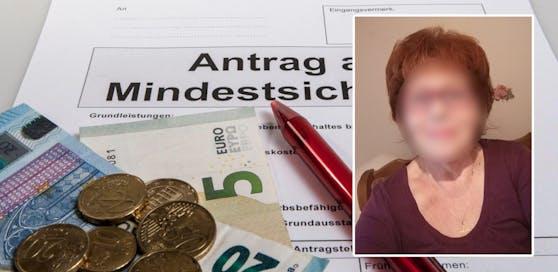 Eine Niederösterreicherin kommt jeden Monat kaum über die Runden.