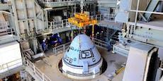 Testflug zur ISS wegen Pannenserie verschoben