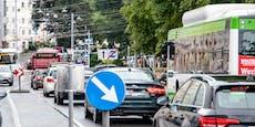 Blechlawine! Erneut Stauwahnsinn in der Stadt Salzburg