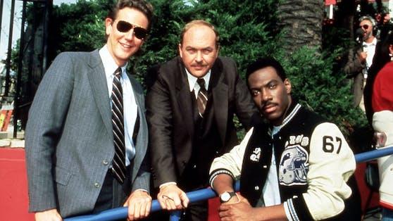 """Eddie Murphy (rechts) kehrt als """"Beverly Hills Cop"""" zurück. Ob auch Judge Reinold(links) und John Ashton(Mitte) mit dabei sein werden, ist noch unklar."""