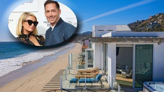 Paris Hilton und Carter Reum sind seit zwei Jahren offiziell ein Paar. Jetzt haben sich die Hotel-Erbin und der Unternehmer ein kleines Strand-Paradies geleistet.