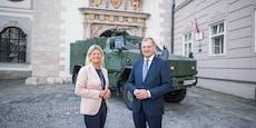40 Millionen zur Sicherung des Bundesheers in OÖ