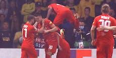 2:1-Sieg! Salzburg erneut in der Champions League