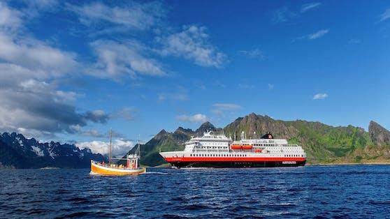 Die MS Otto Sverdrup ist das dritte umweltfreundliche Kreuzfahrtschiff von Hurtigruten.