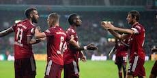 12:0! Bayern schießen im DFB-Pokal Fünftligist ab