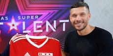 """Podolski nach Covid-Infektion wieder beim """"Supertalent"""""""