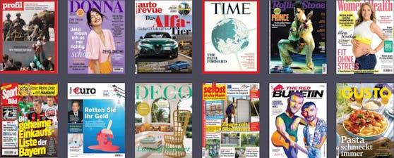 """Der Online-Service """"Readly"""" bietet seinen Leserinnen und Lesern einen unbegrenzten Zugriff auf tausende Magazine & Zeitungen."""
