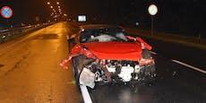 Junger Wiener crasht Festspiel-Sportwagen in Salzburg
