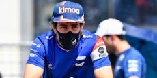 Formel-1-Star Alonso schreibt verschlüsselte Botschaft