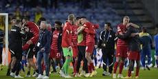 """""""Das ist geil!"""" Salzburg feiert Champions-League-Triple"""