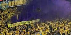 """Bröndby-Fans zeigen """"die echten Farben von Salzburg"""""""