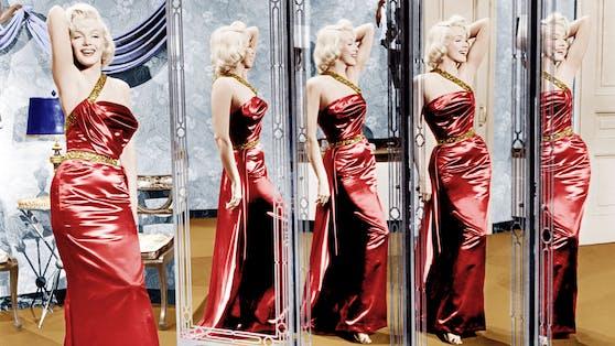 Als blonde Sexbombe schrieb Marilyn Monroe in den 1950er- und 1960er-Jahren Filmgeschichte.