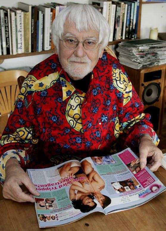 """Er war """"Dr. Sommer""""! Psychotherapeut Dr. Martin Goldstein (er starb 2009) und sein Team beantworteten von 1969 bis 1984 die Sex-Fragen der Jugendlichen."""
