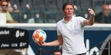 """Frankfurt-Coach Glasner sauer: """"Ist über der Grenze!"""""""