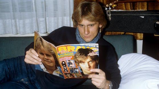 """Auch Rainhard Fendrich blätterte 1981 durch die """"Bravo""""."""