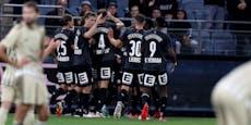 2:0-Sieg! Sturm spaziert locker in die Europa League