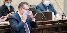 Hier wartet Ex-FPÖ-Chef Strache auf sein Urteil