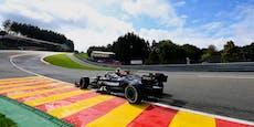 Bottas fährt Bestzeit, Beinahe-Crash von Hamilton