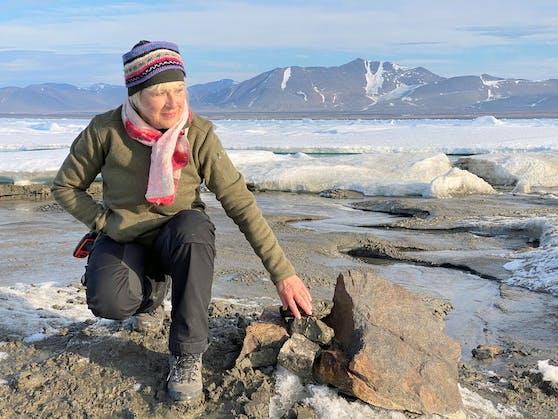 Die Schweizer Unternehmerin Christiane Leister finanzierte die Expedition bei der die neue Insel entdeckt wurde. Archivbild