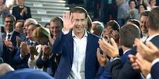 Kanzler Kurz mit 99,4 Prozent als ÖVP-Chef bestätigt