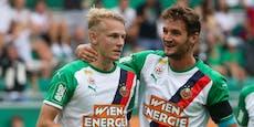 """Rapid brennt aufs Derby: """"Wollen Sieg mit Fans feiern"""""""