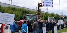 Bauern nahmen ÖVP-Chef Kurz vor Parteitag ins Visier