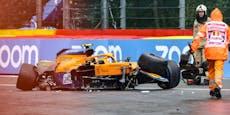 Formel-1-Star Norris nach Mega-Crash auch noch bestraft