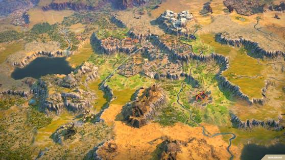 """""""Humankind"""": Map-Contest winkt mit einzigartigem PC als Hauptgewinn."""