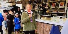 """""""Kannst meine Nüsse haben!"""" ORF hat Pommes-Spaß in Spa"""