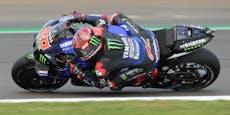 Quartararo baut in Silverstone MotoGP-Führung aus
