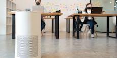 Erste Schul-Luftfilter da, Geräte aber geheim
