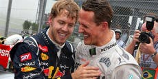 """Vettel über Michael Schumacher: """"Es tut natürlich weh"""""""